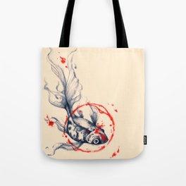 Fish Abstract Tote Bag