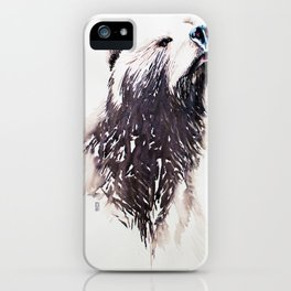 Smelling lunch iPhone Case