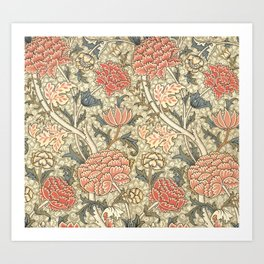 "William Morris ""Cray"" 1. Art Print"