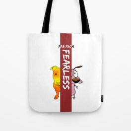 Far From Fearless Tote Bag