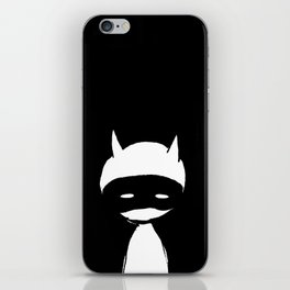 minima - devil mask iPhone Skin
