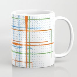 Abstract / Geometry - Colorful Terminal Coffee Mug