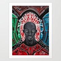 Untitled Man Art Print