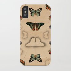 Butterfly Coordinates iPhone X Slim Case