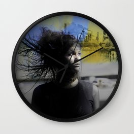 Lonely Country Mile Wall Clock