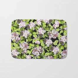 Apple Blossoms, Spring Flower, Springtime, Floral, Botanical, Pink Flowers Bath Mat