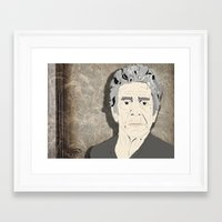 lou reed Framed Art Prints featuring Lou Reed by DDR®
