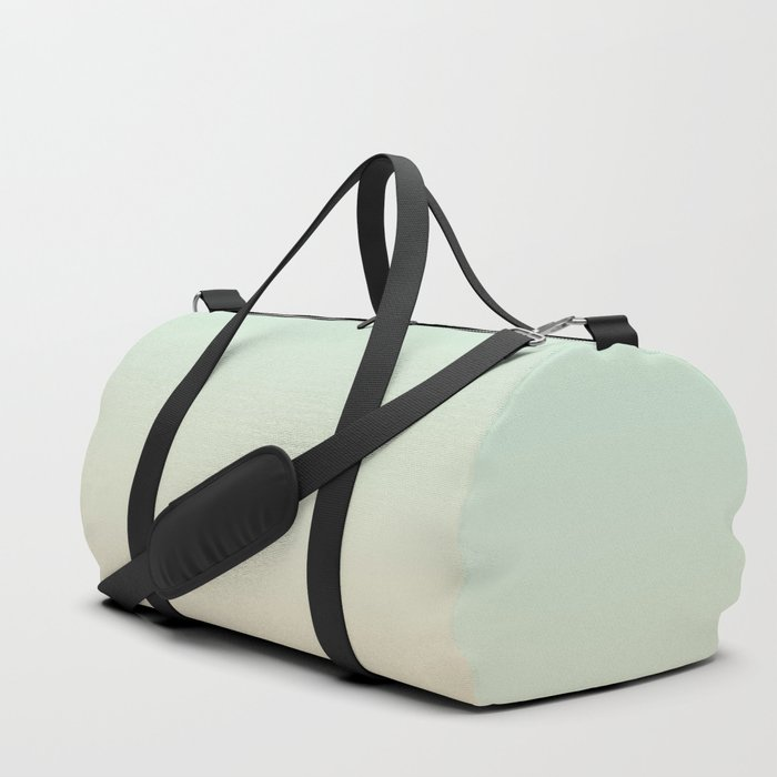 MELLOW TIMES - Minimal Plain Soft Mood Color Blend Prints Duffle Bag