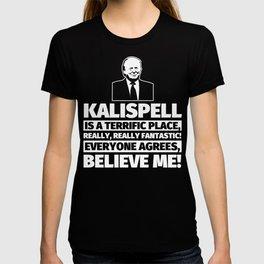 Kalispell Funny Gifts - City Humor T-shirt