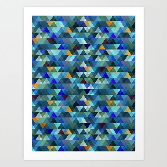 Crystal Art Print