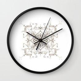 Pencil Pattern Wall Clock