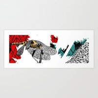 insect Art Prints featuring insect by Ferdane Aydın