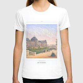 Les tuileries Paris France T-shirt