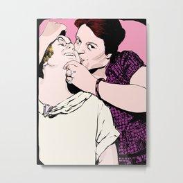 Kisses I Metal Print
