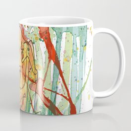 Lonely Lion Hearts Coffee Mug