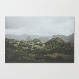 Viñales Valley, Cuba Canvas Print