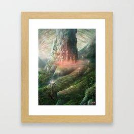 Sacrifice Ritual Framed Art Print