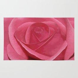 Blushing Rose Rug