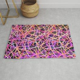 Informel Art Abstract G74 Rug