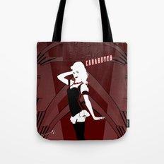 Red Steam Cabaretto Tote Bag