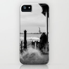 Liberty from the back of The Boat iPhone Case