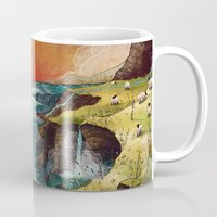 ruben ireland Mugs featuring Ireland by Taylor Rose