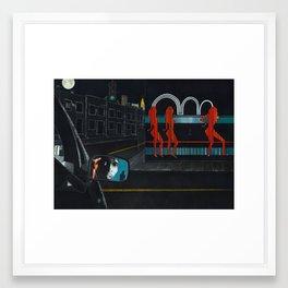 Newport softpack - 'The Wire' Framed Art Print