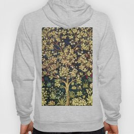 William Morris Tree Of Life Hoody