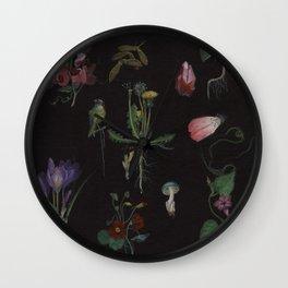Botanical no.1 Wall Clock