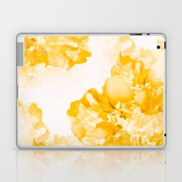Beautiful Peony Flowers White Background #decor #society6 #buyart Laptop & iPad Skin