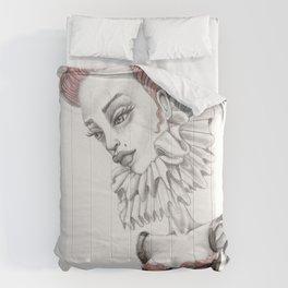 JennyMannoArt GRAPHITE DRAWING/Gretchen Comforters