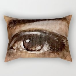 Eyes Are Windows to the Soul Rectangular Pillow