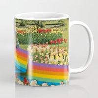 polaroid Mugs featuring Polaroid by Blaz Rojs