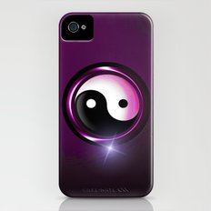 yin and yang Slim Case iPhone (4, 4s)