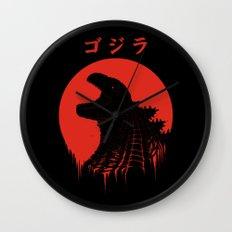 Kaiju Regeneration Wall Clock