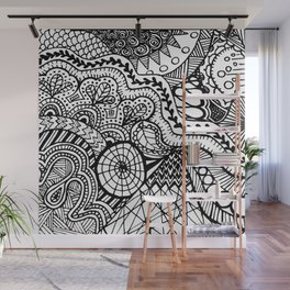 Doodle2 Wall Mural