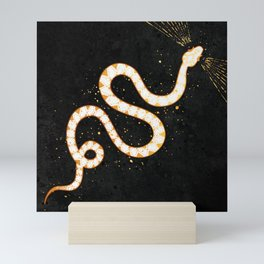 Pale Snake Inktober :: Sleep Copiously Mini Art Print