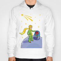 little prince Hoodies featuring Little prince by Dennis Morgan