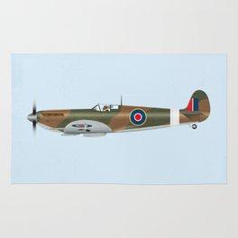 Supermarine Spitfire Rug