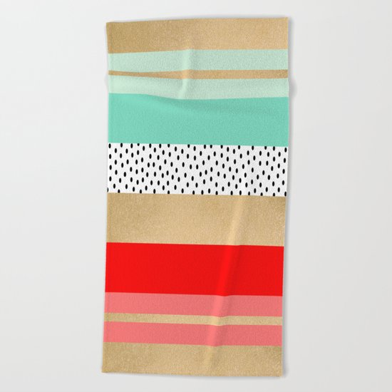 Summer Fresh Beach Towel