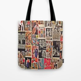 Retro Advertisements  Tote Bag