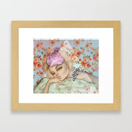 bed-head Framed Art Print
