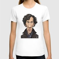 benedict T-shirts featuring Celebrity Sunday ~ Benedict Cumberbatch by rob art | illustration