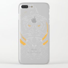 Holy sugar skull Clear iPhone Case