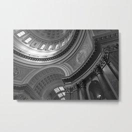 Rotunda, Madison, WI - Madison's Dome Metal Print