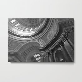 Rotunda, Madison, WI - Madison's Dome Metal Print