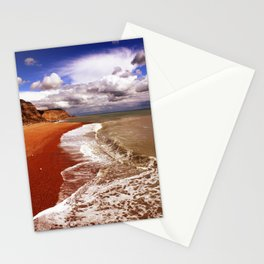 Golden Shore Stationery Cards