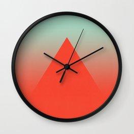 Volcanic Wall Clock
