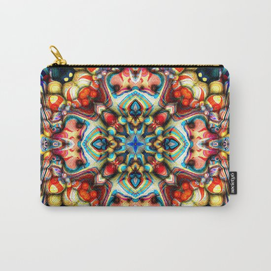 Colorful Shapes Abstract Carry-All Pouch