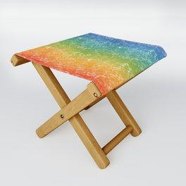 Collin and the Rainbow Folding Stool